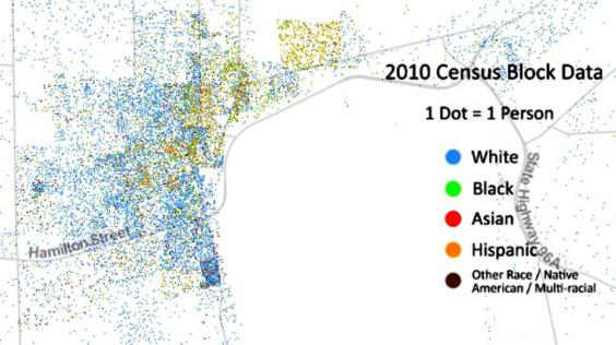 [this demographic map tells the story of our invisible walls]